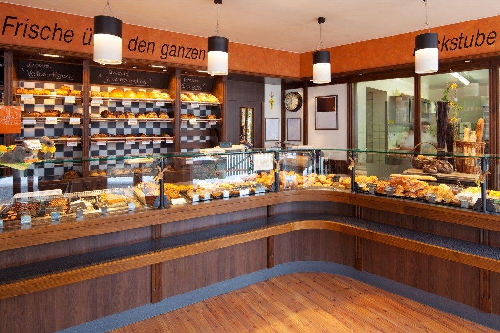 Modern bake shop