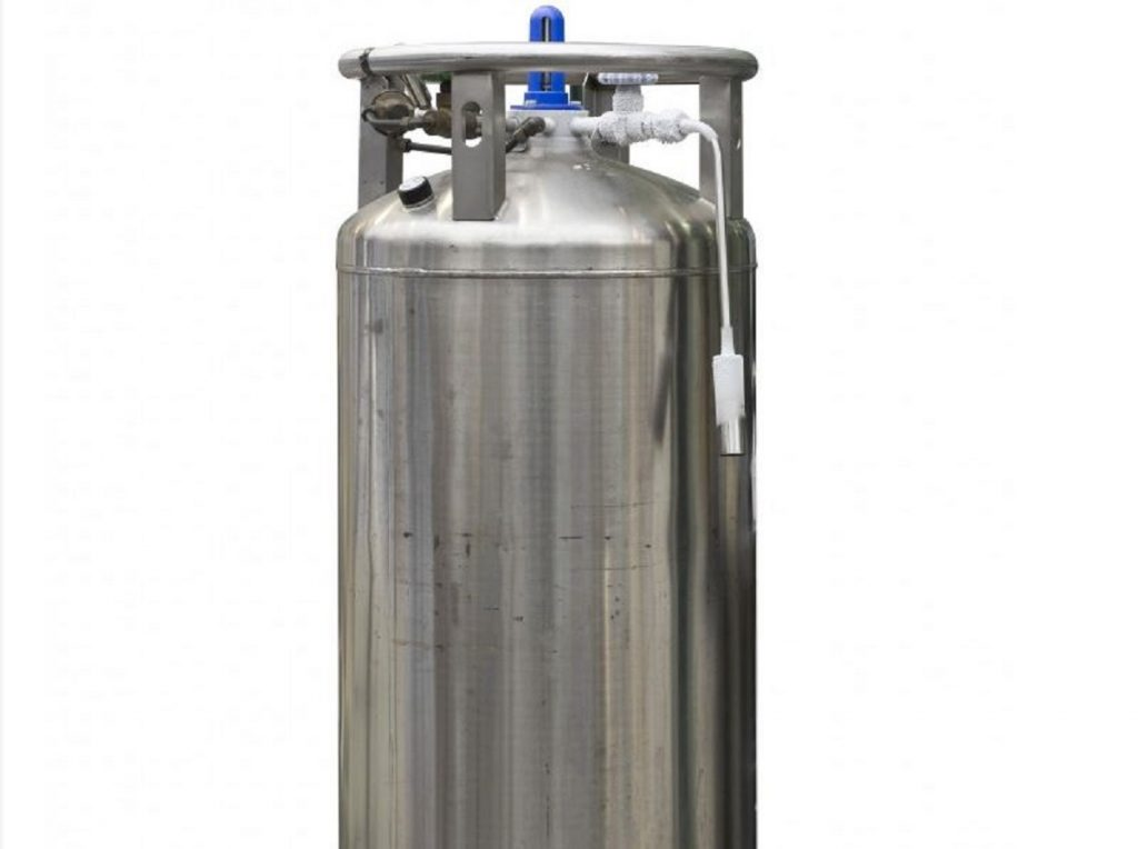 Stainless cryonic tank