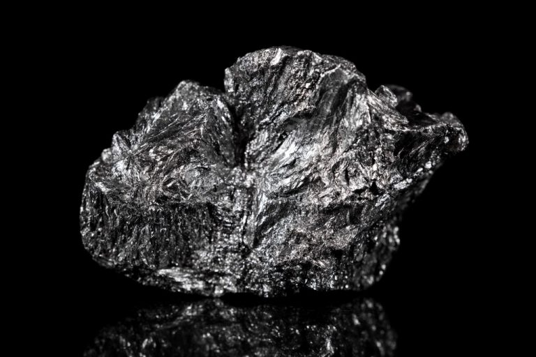Rough mineral stone of Graphite