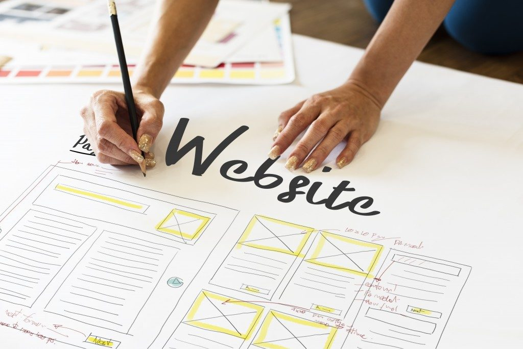 Optimizing your website concept