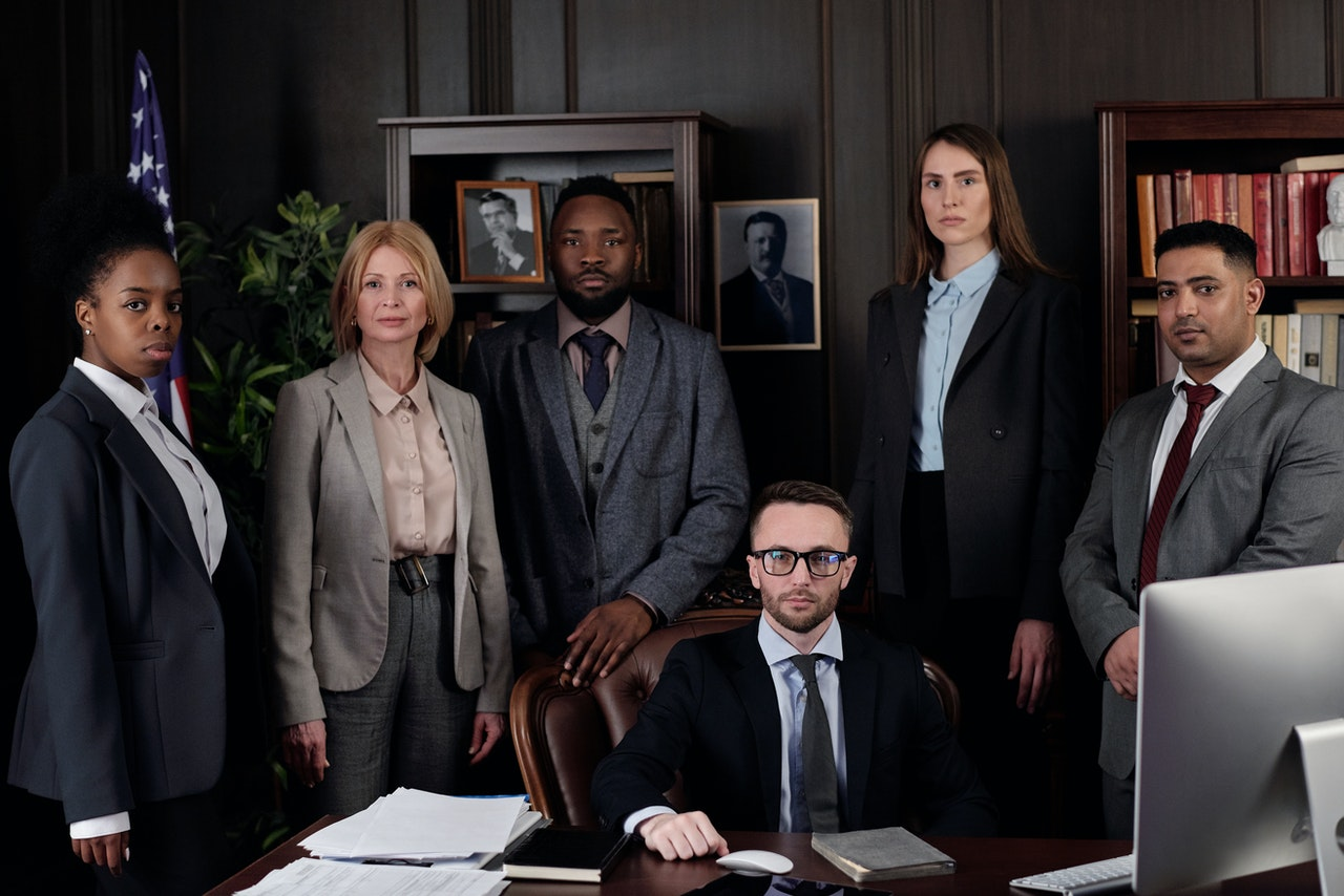 group of lawyers or legal counsel